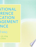 International Conference on Education and Management Science  ICEMS2014