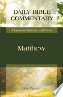 Matthew  Daily Bible Commentary