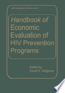 Handbook Of Economic Evaluation Of Hiv Prevention Programs