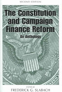 The Constitution and Campaign Finance Reform
