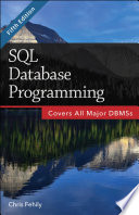 SQL  Database Programming   2015 Edition
