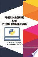Problem Solving And Python Programming