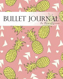 Bullet Journal Notebook  Dotted Grid  Graph Grid Lined Paper  Large  8x10  150 Pages