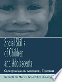 Social Skills of Children and Adolescents