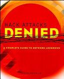 Hack Attacks Denied