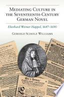 Mediating Culture In The Seventeenth Century German Novel