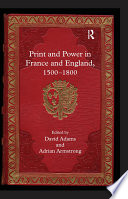 Print and Power in France and England  1500 1800