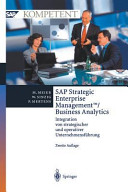 SAP Strategic Enterprise ManagementTM Business Analytics