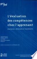 L'évaluation des compétences chez l'apprenant