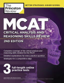 Mcat Critical Analysis And Reasoning Skills Review