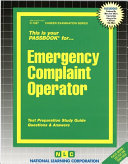 Emergency Complaint Operator