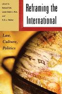 Reframing the International