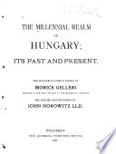 The Millennial Realm of Hungary Book PDF