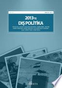 2013'te Dış Politika