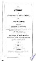 The Mirror of Literature  Amusement  and Instruction