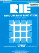 Resources In Education Rie