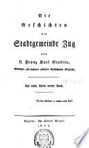 Topographie des Kantons Zug...: Theil 1: Die Geschichten der Gemeinden Chaam, Risch, Steinhausen und Walchwyl