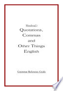Woodroof s Quotations  Commas and Other Things English