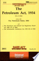 The Petroleum Act  1934