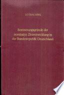 Bestimmungsgründe der nominalen Zinsentwicklung in der Bundesrepublik Deutschland 1959-1969