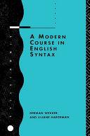 download ebook a modern course in english syntax pdf epub