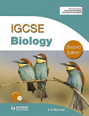 IGCSE Biology Book Cover