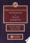 Preconcentration Techniques For Trace Elements