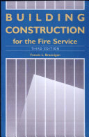 Building Construction for the Fire Service