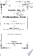 Geognostische Skizze des Grossherzogthums Baden
