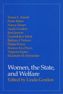 Women  the state  and welfare