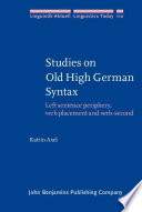 Studies on Old High German Syntax