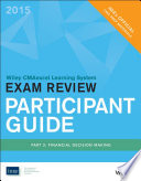 Wiley Cmaexcel Learning System Exam Review 2015 Participant Guide Part 2