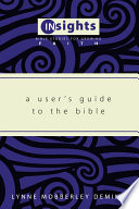 A User S Guide To The Bible