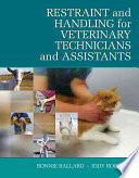 Restraint   Handling for Veterinary Technicians   Assistants