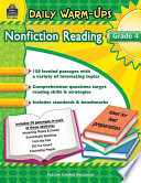 Nonfiction Reading, Grade 4