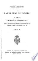 Viage literario    las iglesias de Espa  a