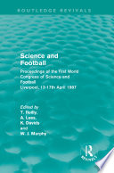 Science and Football  Routledge Revivals