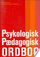 Psykologisk-pædagogisk ordbog