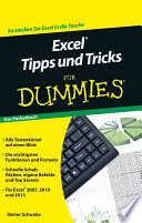 Excel Tipps und Tricks f  r Dummies