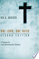 One Lord  One Faith  Second Edition