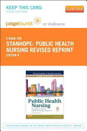 Public Health Nursing Pageburst on VitalSource Access Code