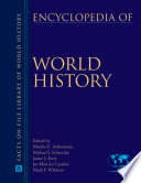 Encyclopedia Of World History Ackerman Schroeder Terry Hwa Lo 2008