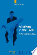 Allusions in the Press