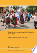 Migration from and towards Bulgaria 1989–2011