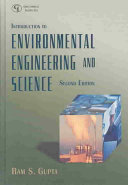 Introduction To Environmental Engineering And Science