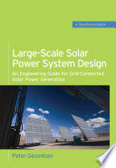 Large Scale Solar Power System Design  GreenSource Books