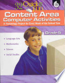 32 Quick Fun Content Area Computer Activities Grade 5