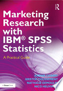 Marketing Research with IBM   SPSS Statistics