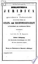 Bibliotheca juridica