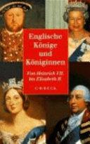 Englische Könige und Königinnen